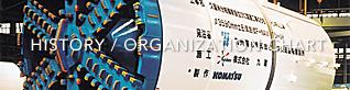 HISTORY / ORGANIZATION CHART