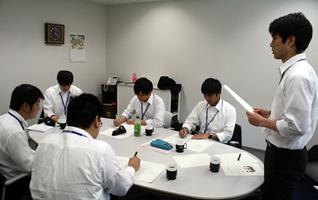 新入社員教育(グループワーク)
